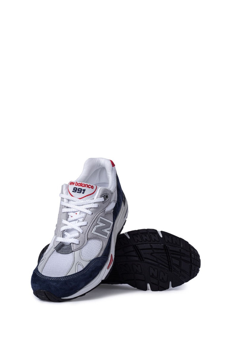NEW BALANCE - Sneakers uomo 991 Made in UK colorblock