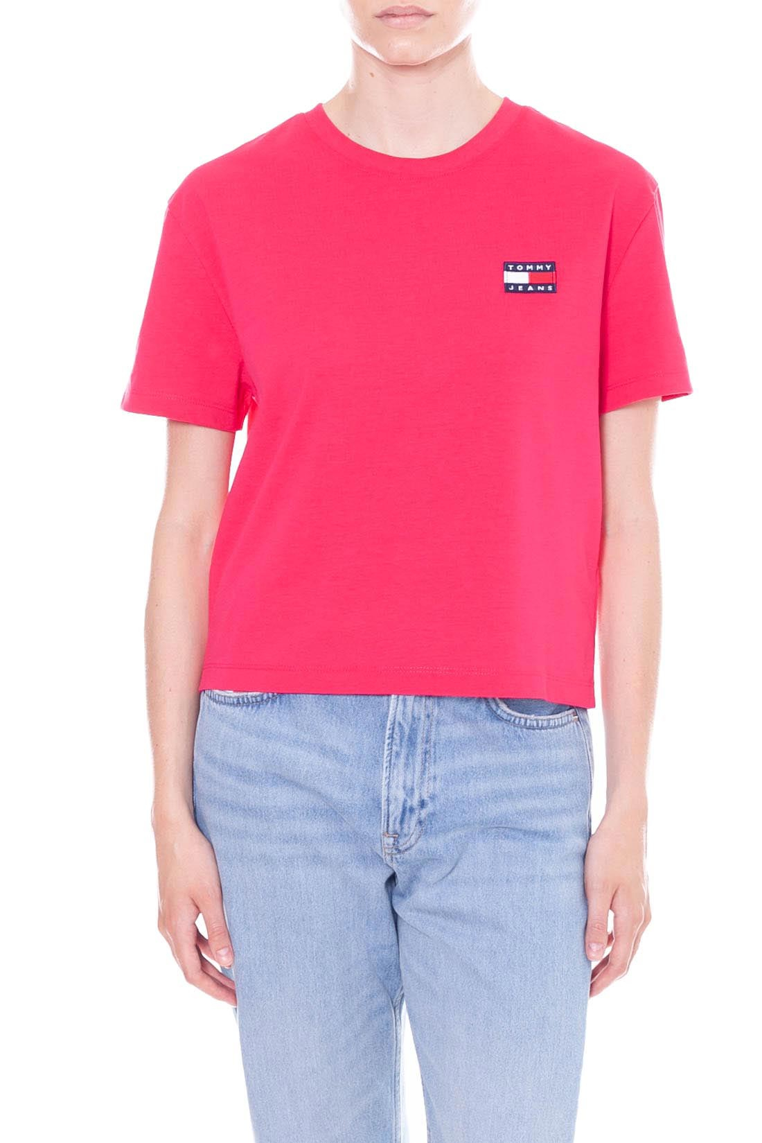 Tommy Jeans Tjw Shortsleeve Stretch Tee T-Shirt Donna