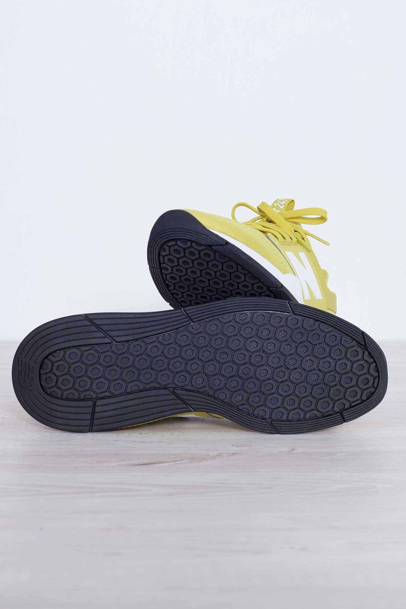 247 v2 lime yellow mesh sneakers