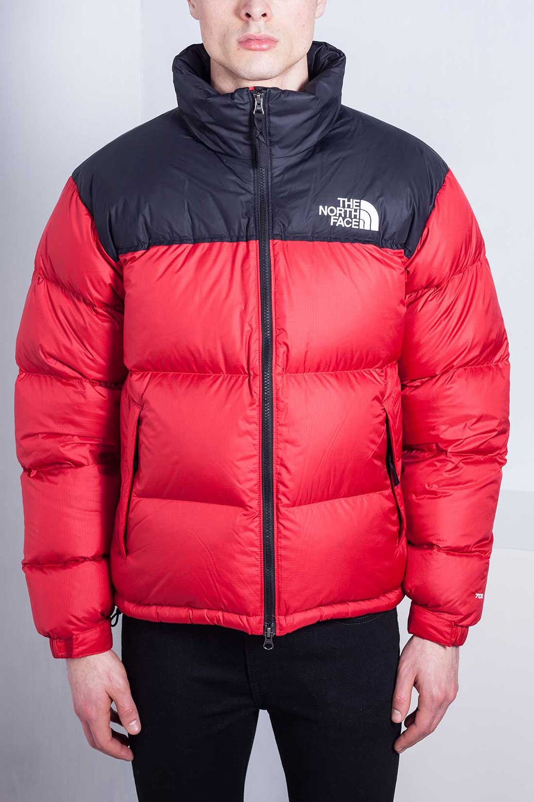 editoriale costola Moderatore  THE NORTH FACE Uomo - Piumino Retro Nuptse 1992 rosso - Push96.com