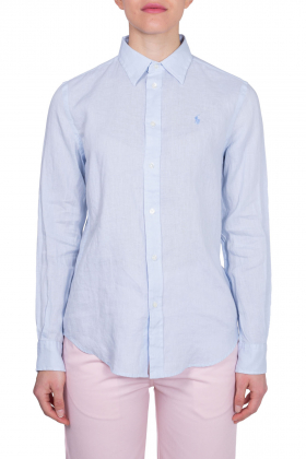 POLO RALPH LAUREN - Camicia donna relaxed in lino