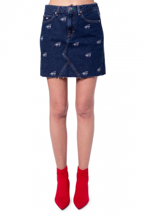 TOMMY JEANS - Minigonna in jeans critter