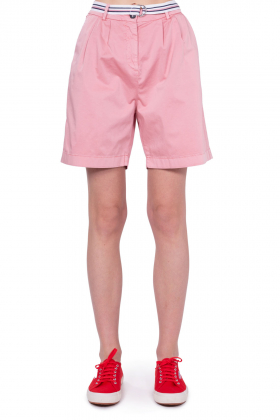 TOMMY HILFIGER - Shorts relaxed donna in cotone