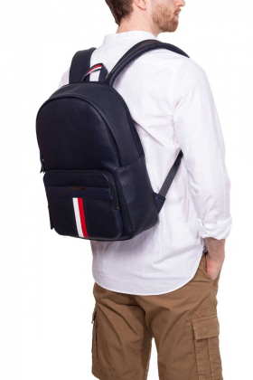 TOMMY HILFIGER - Zaino business uomo in pelle